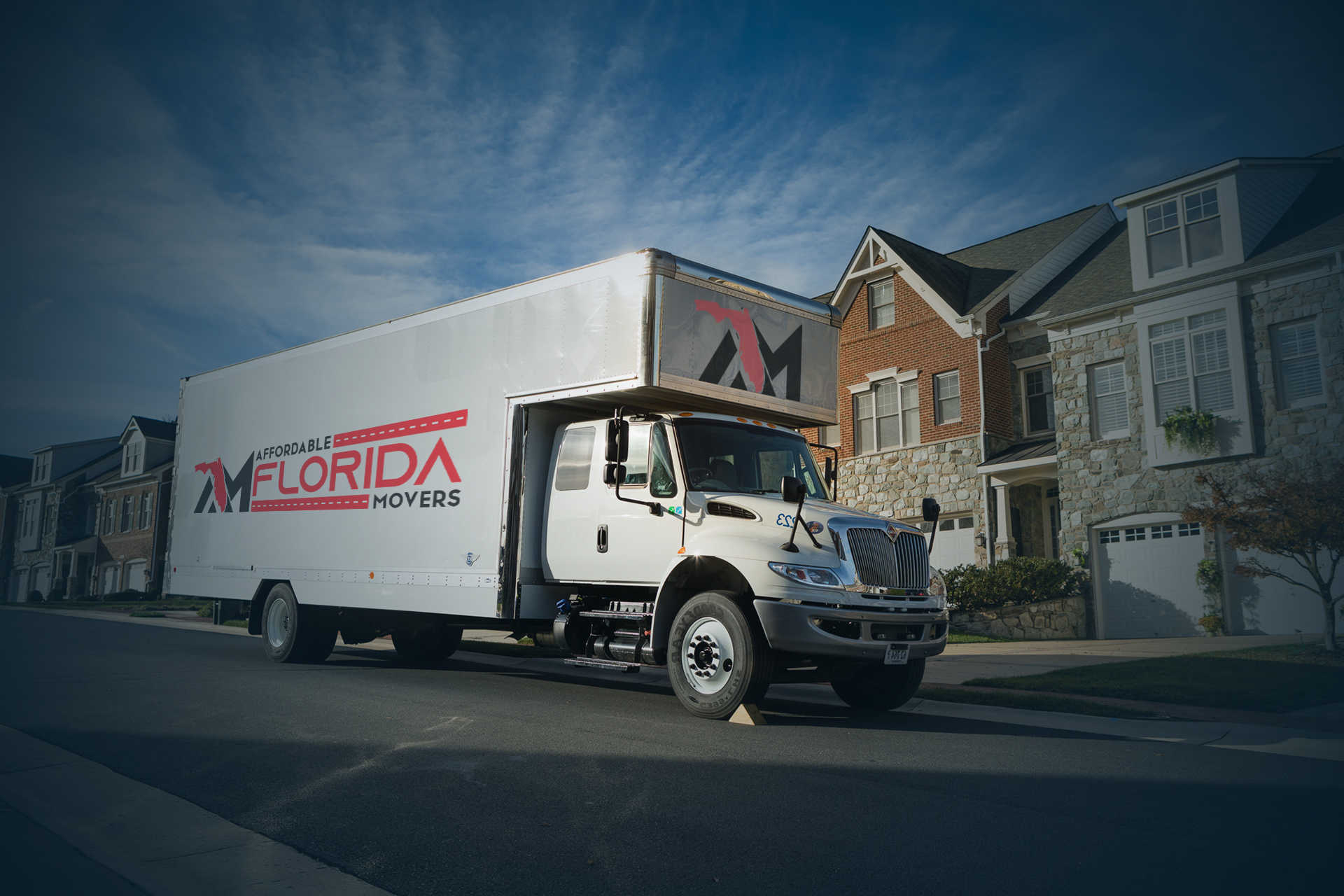 local moving truck from Affordable Florida Moving