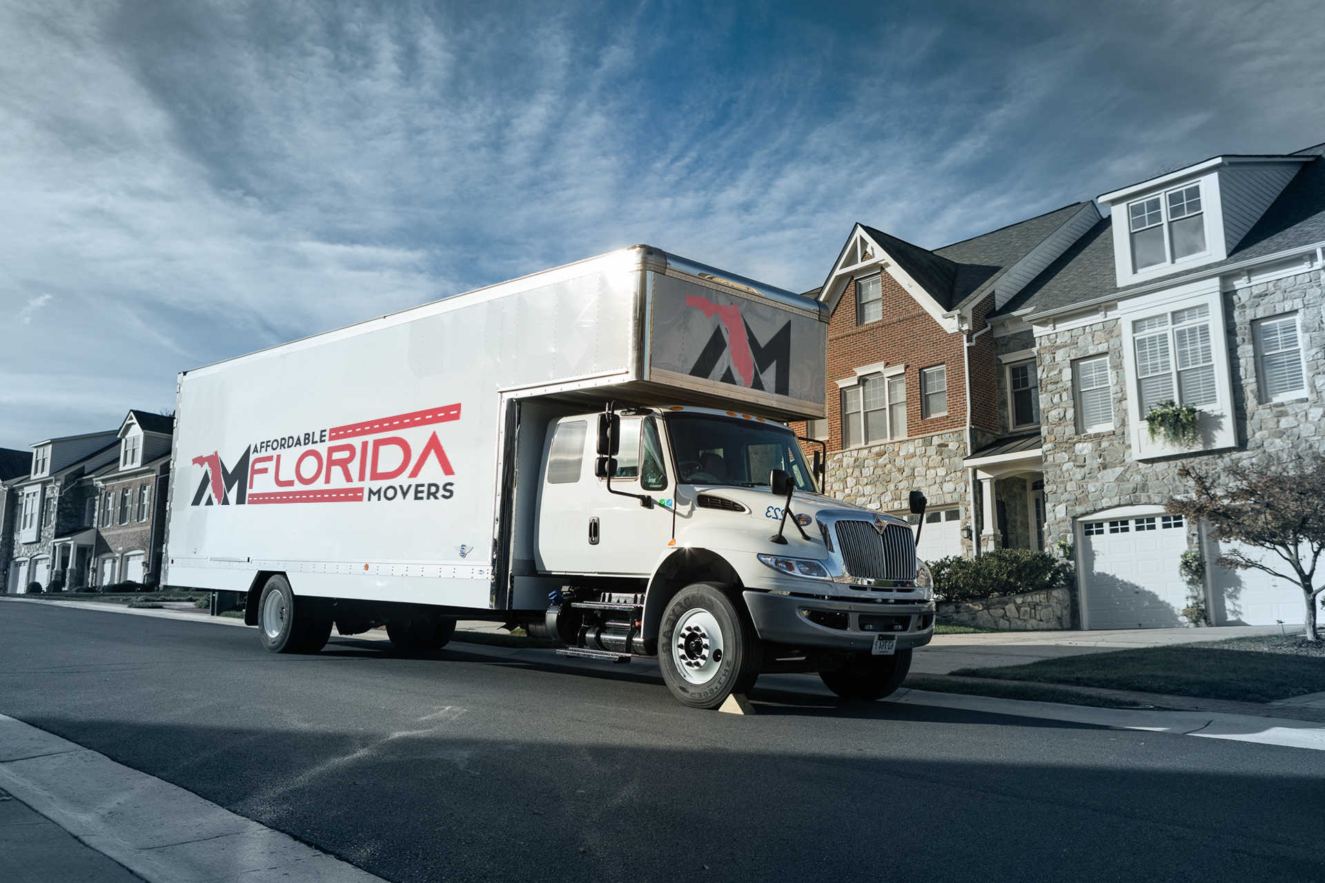 long-distance moving truck from Affordable Florida Moving