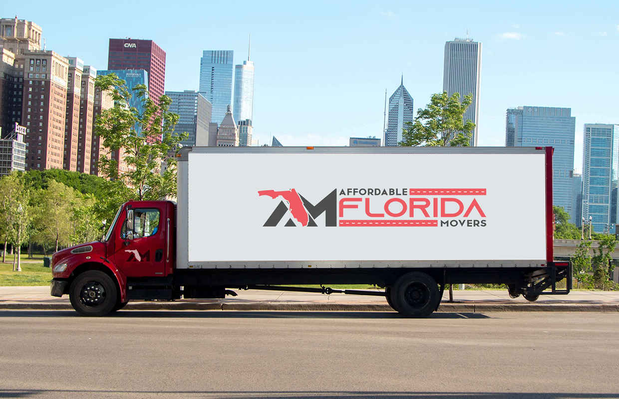 moving truck from Affordable Florida Moving